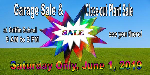 Garage Sale and Closeout Plant Sale